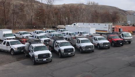 WFS Crew Carriers | Wildfire Services Yakima, WA