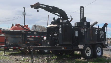 WFS Tree Chipper | Wildfire Services Yakima, WA