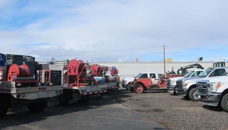 WFS | Wildfire Services, Yakima WA - Wild Land Brush Trucks